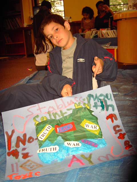 child art therapy for refugees
